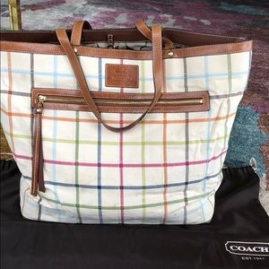 Coach Travel Tote Bag- Good Condition